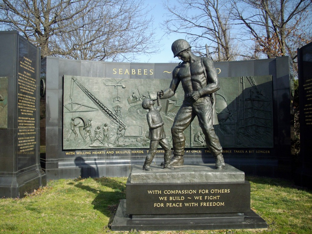 Seabees Monument